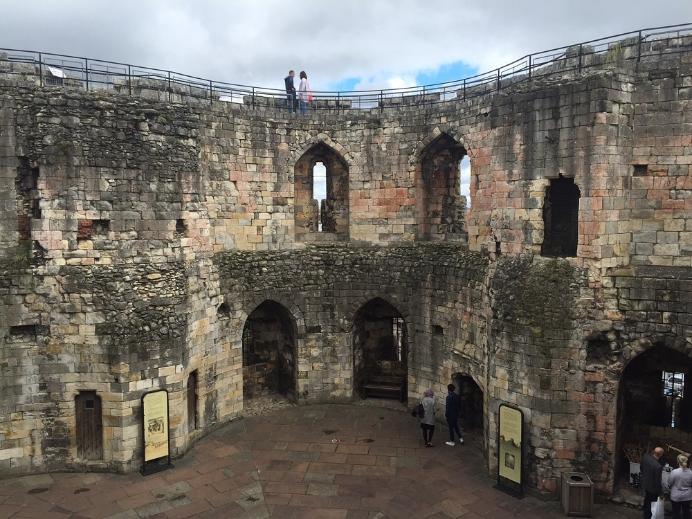 """Inside Clifford's Tower - """"York: Five Must See Historic Sites"""" - Two Traveling Texans"""