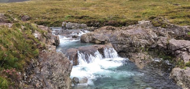 The Magical Fairy Pools in Isle of Skye, Scotland