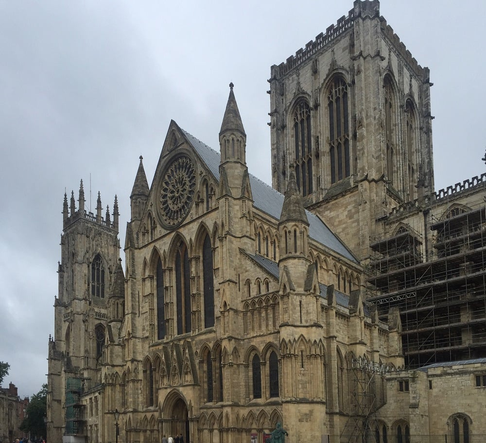 """York Minster is pretty much impossible to fit all in one picture - it's so big! - """"York: Five Must See Historic Sites"""" - Two Traveling Texans"""