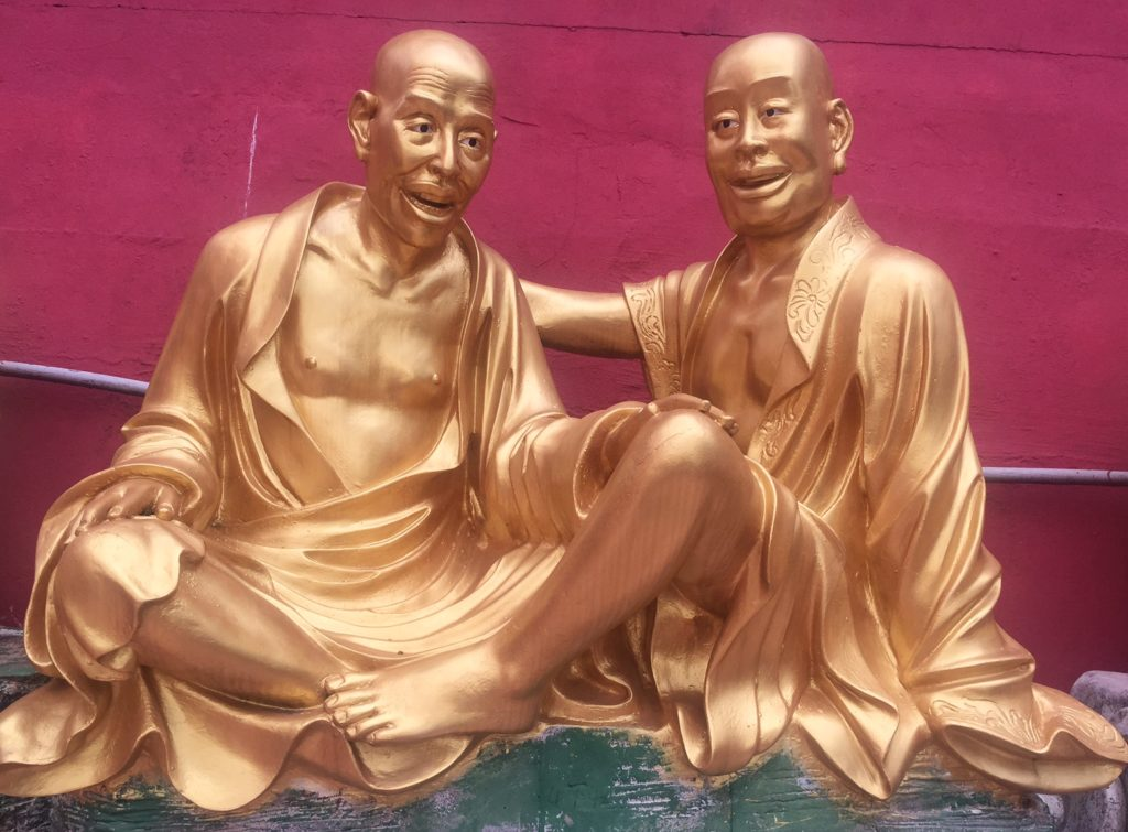 """Every Buddha had its own personality! - """"The Truth about the 10000 Buddhas Monastery"""" - Two Traveling Texans"""