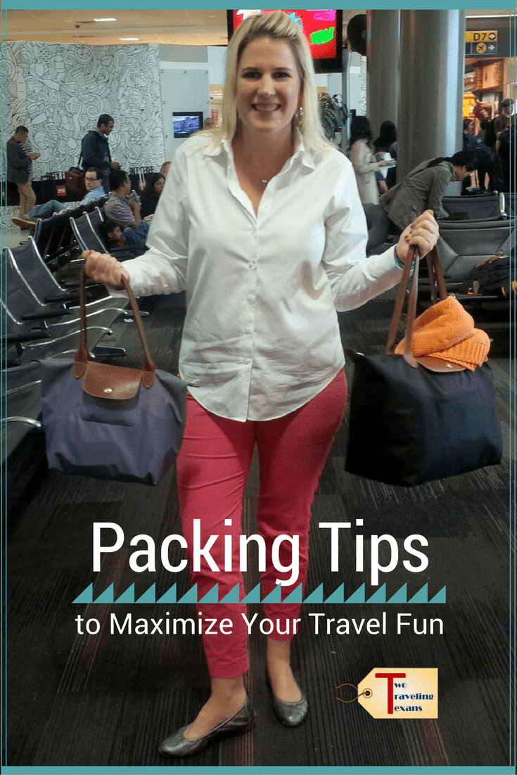 A travel blog with suggestions on how to be more efficient when packing for a trip so that you maximize your fun!
