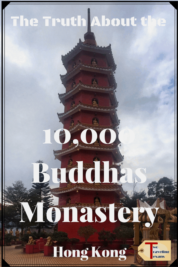A travel blog about going to the 10000 Buddhas Monastery in Hong Kong with tips on how to get the most out of your visit.