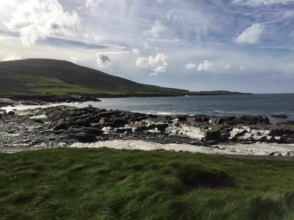 """The view from the lighthouse on Valentia island. - """"Why You Must Do the Ring of Kerry at Least Once in Your Lifetime"""" - Two Traveling Texans"""
