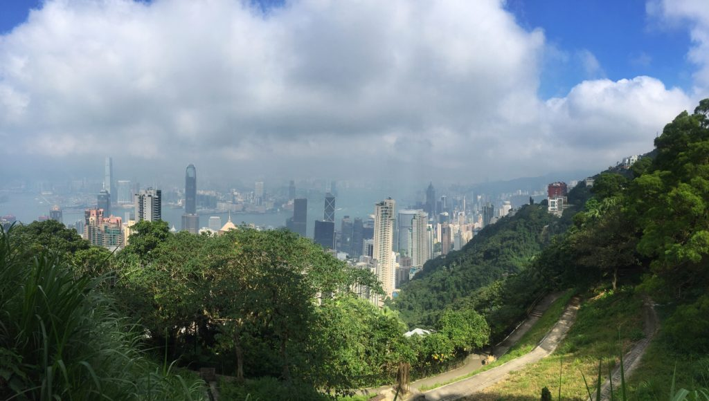 "Another great view from the top of Victoria Peak. - ""Don't Miss Victoria Peak When Visiting Hong Kong"" - Two Traveling Texans"