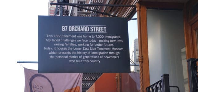 NYC Tenement Museum: Rediscovering the American Dream