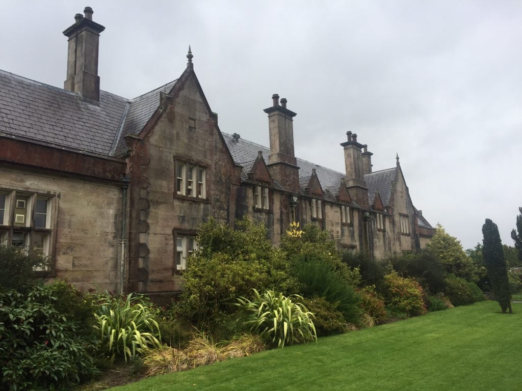 The Muckross House was impressive inside and out.