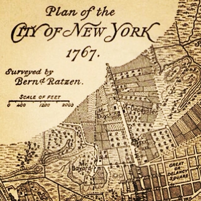 """An old map of New York - """"NYC Tenement Museum: Rediscovering the American Dream"""" - Two Traveling Texans"""