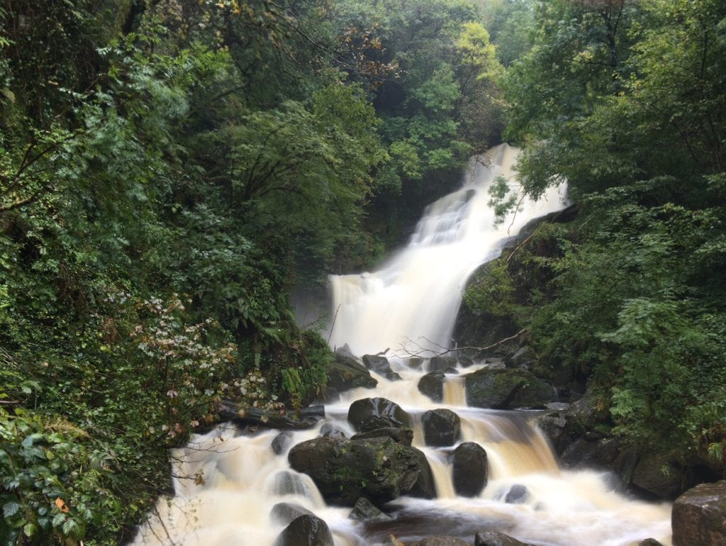 Even though the hike was longer than expected to get to the Torc Waterfall, it was worth it. - Killarney Hiking - Two Traveling Texans