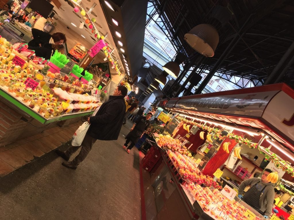 "One of the aisles in La Boqueria Market. - ""La Boqueria Market: Come Hungry!"" - Two Traveling Texans"