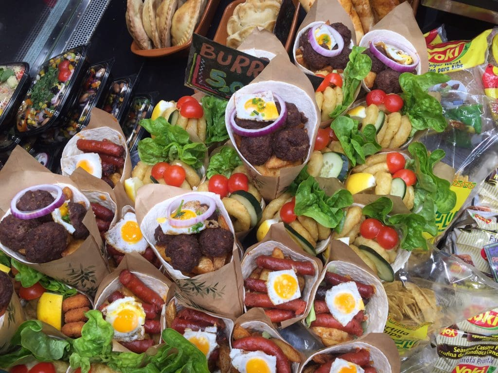 "A mix of seafood, meat, and other goodies...-""La Boqueria Market - Come Hungry!"" - Two Traveling Texans"