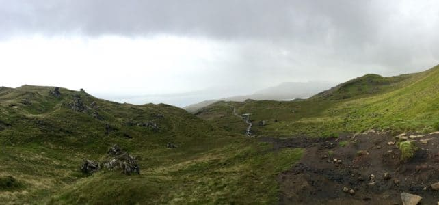 Old Man of Storr: Hiking in the Clouds
