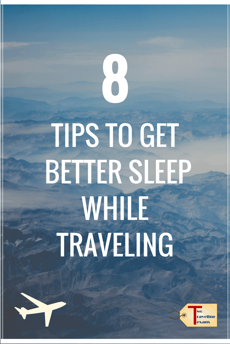 Learn eight tips that will help you get better sleep when you travel and minimize jet lag. | Long Haul Flights | Airplane Travel