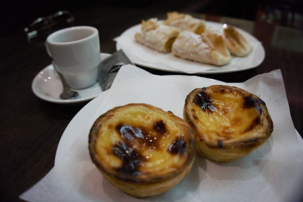 "Ending the tour with some dessert, coffee, and nice conversation! - ""Porto Food Tour: Taste the Local Specialties"" - Two Traveling Texans"