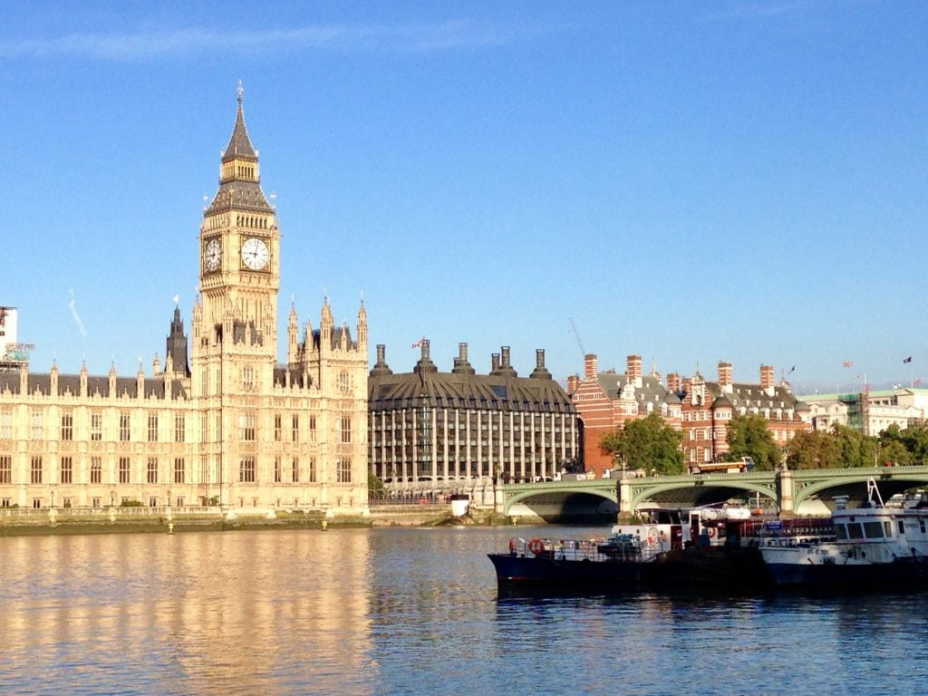 "The Thames and Houses of Parliament - ""UK Registered Traveller: Speed through Airport Immigration"" - Two Traveling Texans"