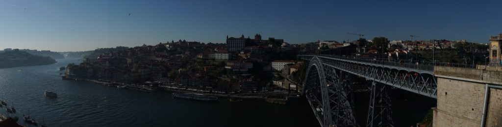 "View of Porto from in front of the upper cable car station. - ""Port House Visits and Cable Cars"" - Two Traveling Texans"