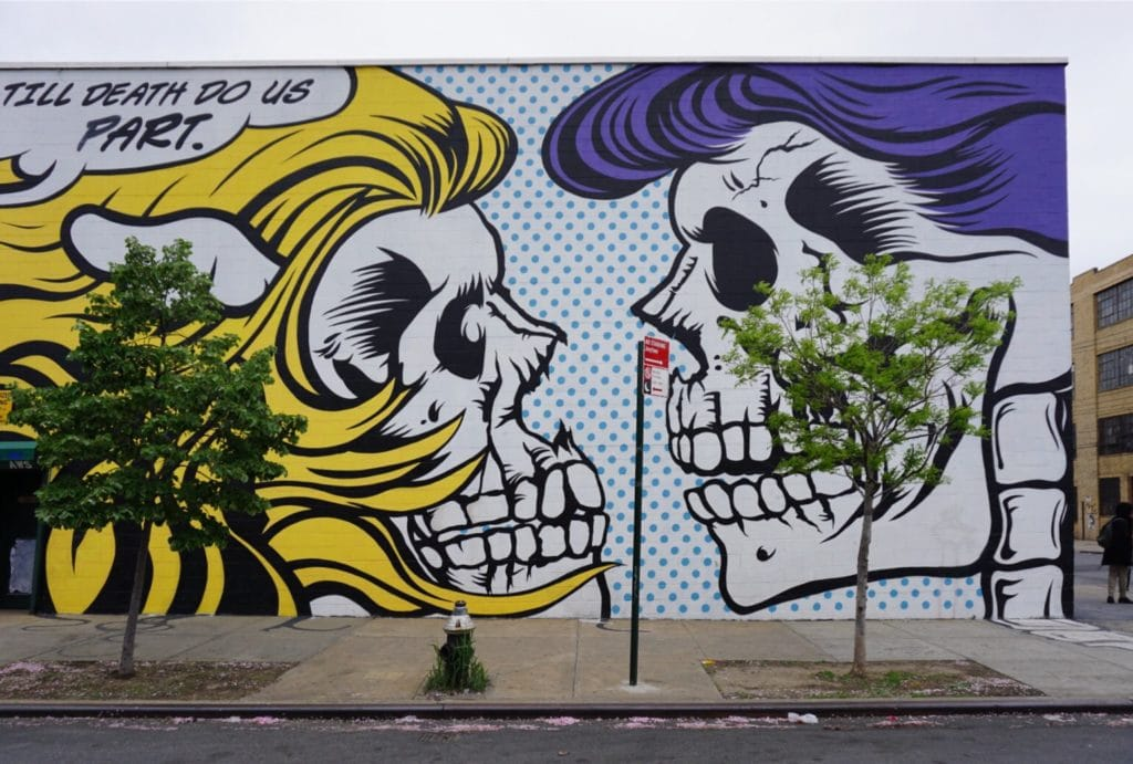 "The style is very pop art but it has the edgy street vibe. - ""Brooklyn Graffiti and Street Art Tour"" - Two Traveling Texans"