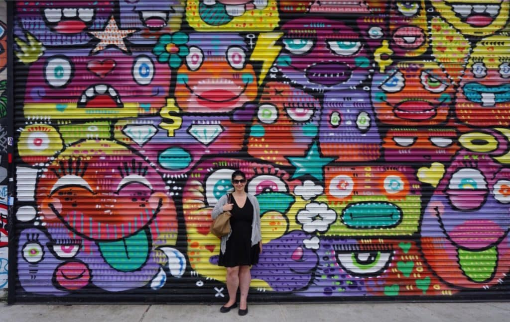 "This area really is an instagrammer's heaven. So many great photo spots! - ""Brooklyn Graffiti and Street Art Tour"" - Two Traveling Texans"