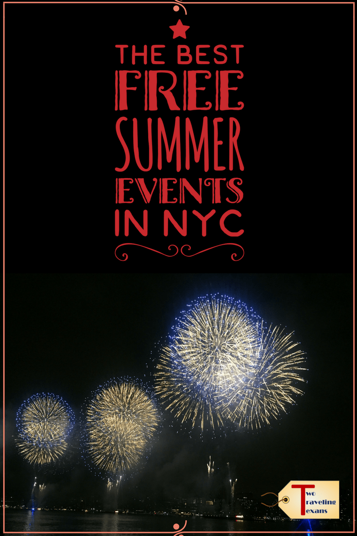 Get all the details on the best free summer events in NYC (movies, concerts, & more) | New York City | Budget Travel Ideas | July 4th