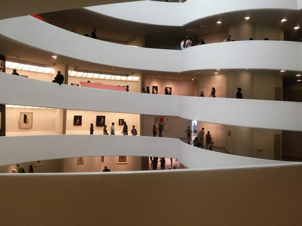 """The Guggenheim Museum is one of the museums that participates in the Museum Mile Festival. - """"The Best Summer Events in NYC"""" - Two Traveling Texans"""