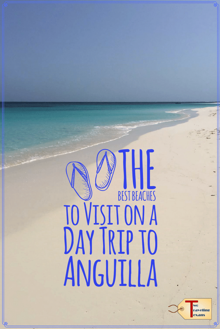 Helpful tips on the best beaches to visit during your day trip to Anguilla. | Caribbean | Travel | Beach Day | Resorts | Shoal Bay Beach