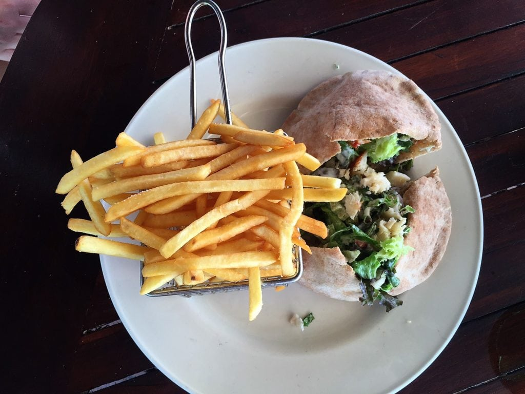 """Lunch at Shoal Bay Beach - """"Beachy Day Trip to Anguilla"""" - Two Traveling Texans"""