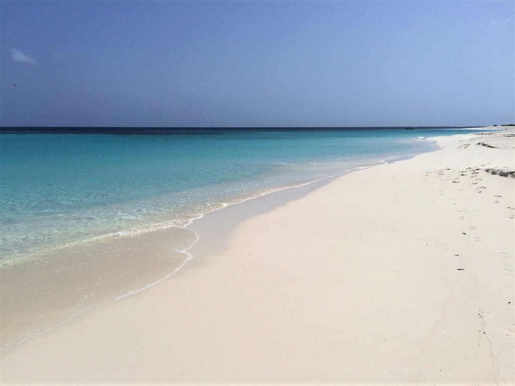"""The sand and water at Shoal Bay Beach is pretty much perfect! - """"Beachy Day Trip to Anguilla"""" - Two Traveling Texans"""