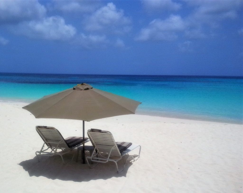 """Anguilla has some amazing beaches! This is Shoal Bay. - """"Beach Day Trip to Anguilla"""" - Two Traveling Texans"""