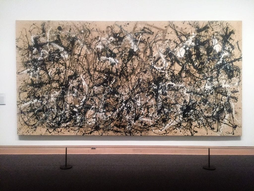 """Jackson Pollack at the Met. - """"Met vs MOMA: Which Museum is Best?"""" - Two Traveling Texans"""