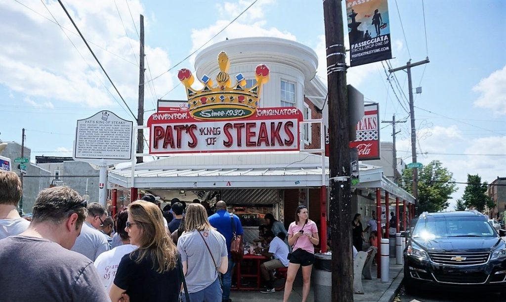 "Pat's King of Steaks - ""Taste Test: Pat's Vs Geno's Cheesesteaks"" - Two Traveling Texans"