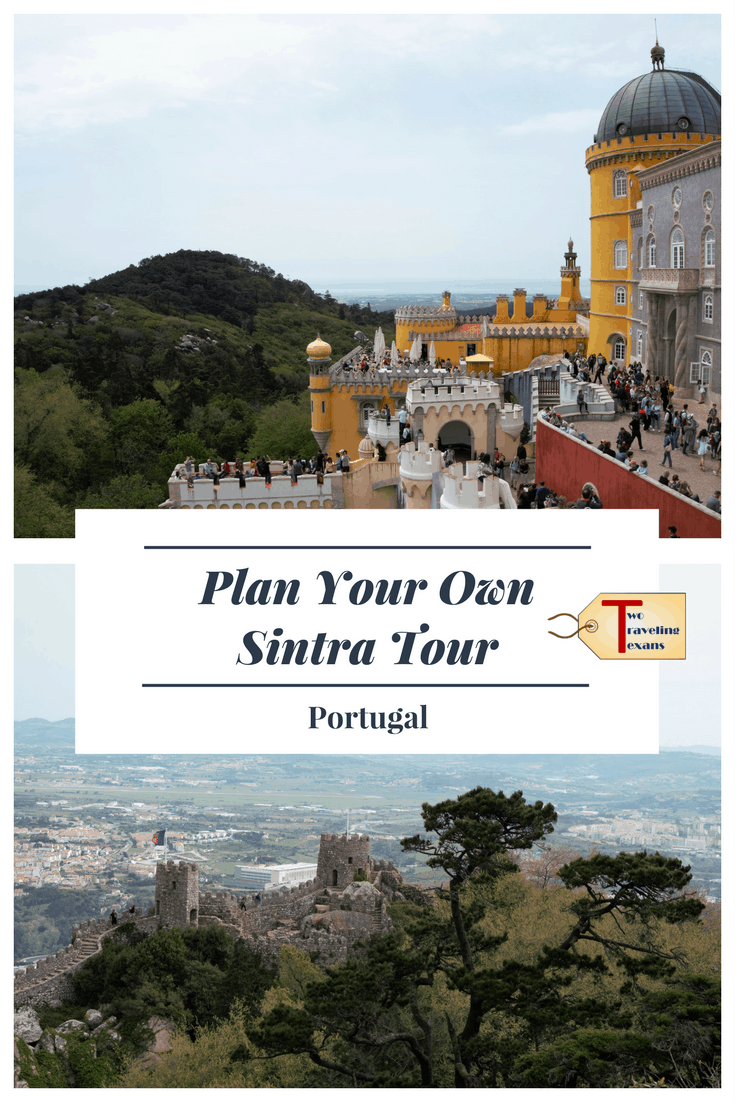 Guide to help plan your own Sintra Tour including how to get from Lisbon to Sintra, what to see, how to get around Sintra, and where to get tickets. | Portugal | Castles | Day Trip | Gardens