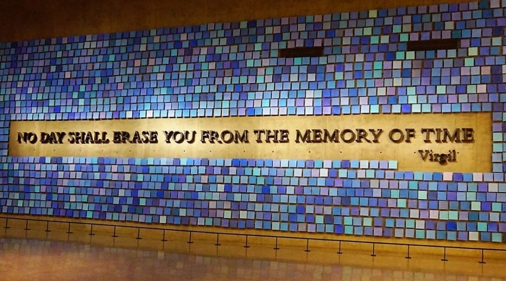 "I thought this quote was perfect for the museum. - - ""The National September 11 Memorial & Museum: A Moving Experience"" - Two Traveling Texans"