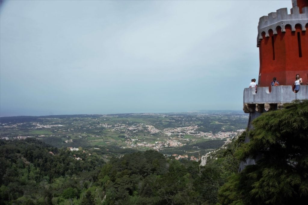 "From Pena Palace, you have a great view of the Sintra Hills. - - ""Pena Palace: Sintra's Fairytale Castle"" - Two Traveling Texans"