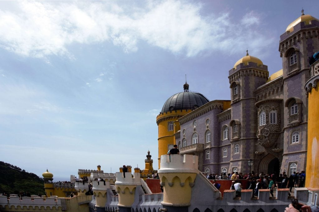 "Plenty to explore on your visit to Pena Palace. - ""Pena Palace: Sintra's Fairytale Castle"" - Two Traveling Texans"