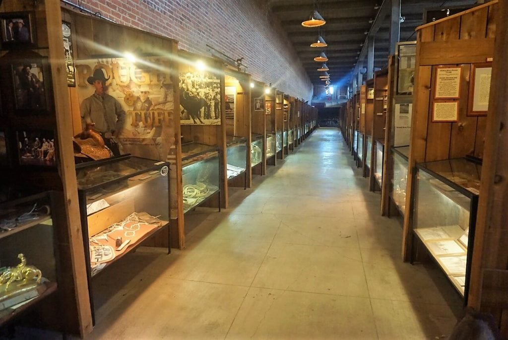 "One of the rows dedicated to the members of the Texas Cowboys Hall of Fame. - ""Fort Worth Stockyards: Learn About the Old West"" - Two Traveling Texans"