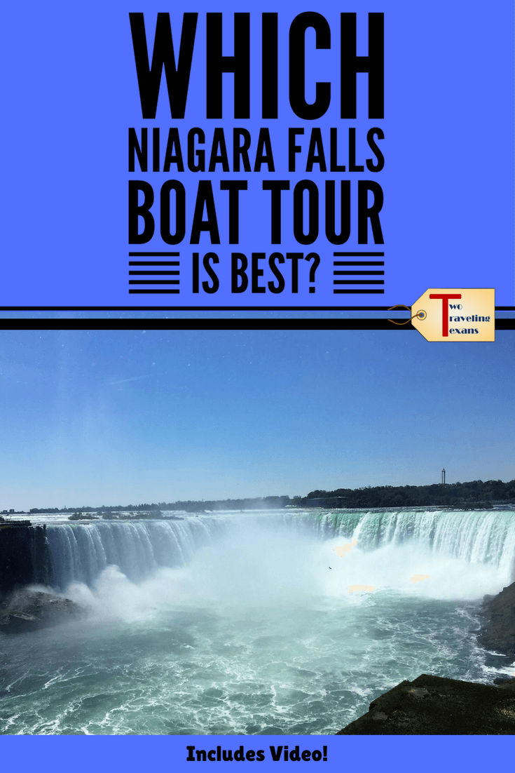 Hornblower Niagara Cruises vs. Maid of the Mist - Learn which Niagara Falls boat tour is best for you and what you can expect?  Includes video.  #niagarafalls #maidofthemist #niagaraboatride #hornblowerniagaracruises #boattoseeniagarafalls #niagarafallscanada #canada #whattodoinniagarafalls