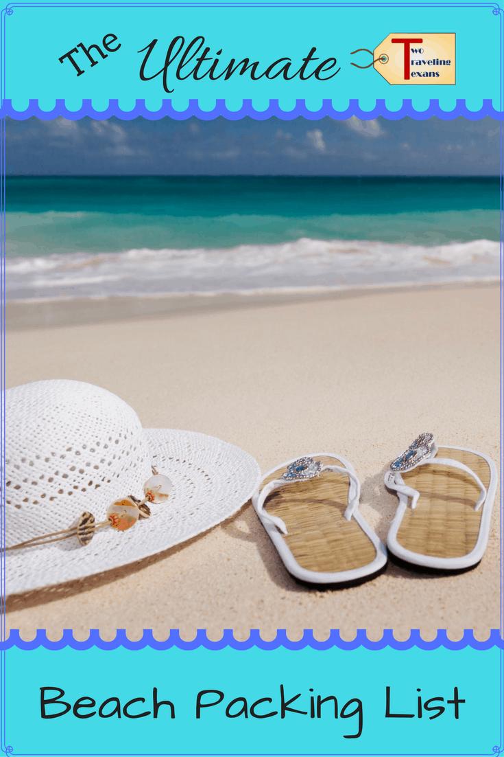 Beach Packing List | Packing List for the Beach | Beach Essentials | Travel Planning | Beach Day | Beach Accessories