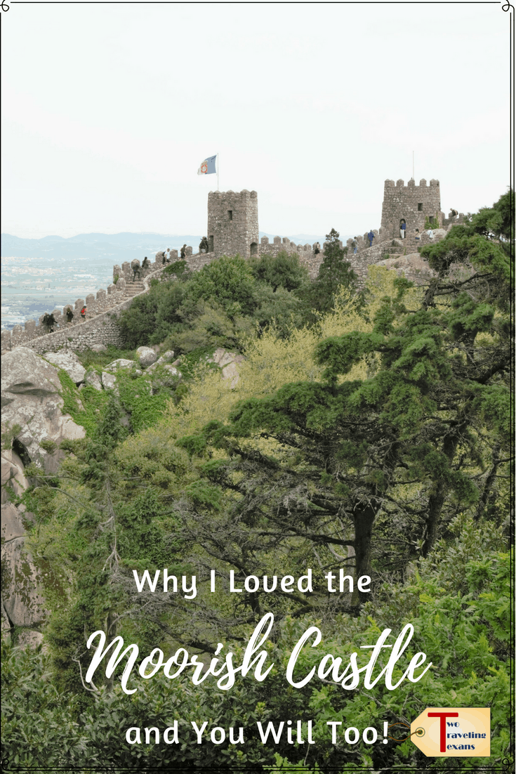 Learn about the history of the Moorish Castle in Sintra, Portugal, and get tips on what to see and how to make the most of your visit. | Day Trip Lisbon